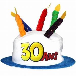 Gateau Anniversaire 2 Ans : chapeau gateau anniversaire 30 ans achat vente chapeau ~ Farleysfitness.com Idées de Décoration
