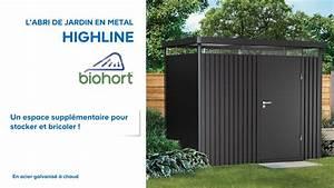 Abri De Jardin Mtal High Line BIOHORT 638047 Castorama