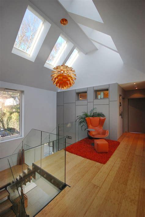 modern house filled  natural light