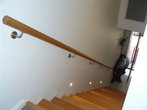 wall mounted handrail height stair railings geelong staircase handrails steel
