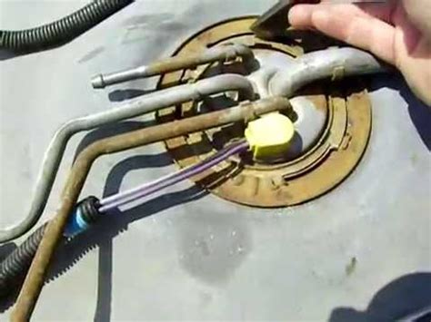 Replace Fuel Pump Gmc Youtube