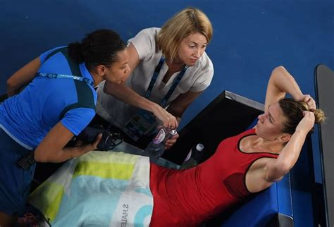 Halep taken to hospital as Australian Open defends roof decision | Sport | The Guardian