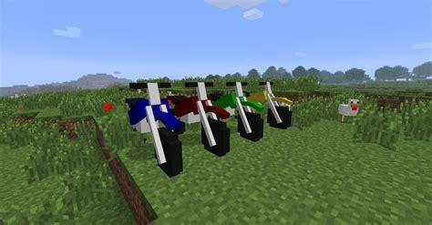 minecraft motorcycle the dirtbike mod minecraft mods