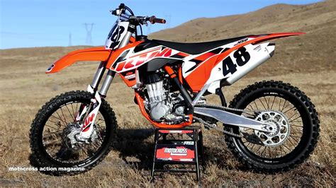 ride  ktm sxf motocross action magazine youtube