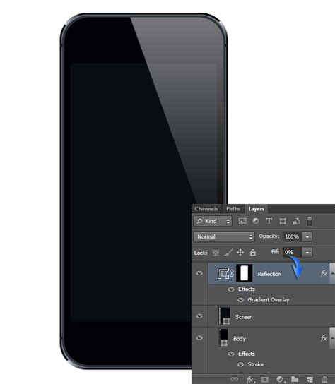 how to photoshop pictures on iphone create a realistic iphone 5 mockup in photoshop sitepoint