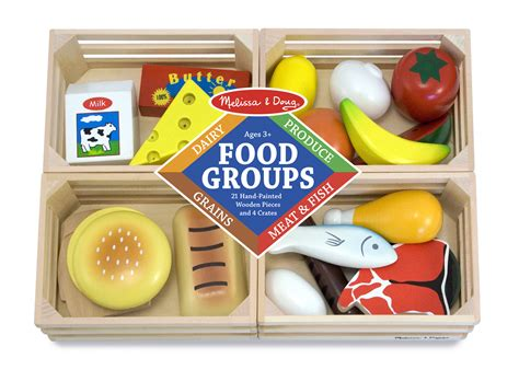 Food Groups Wooden Play Food By Melissa Doug 271