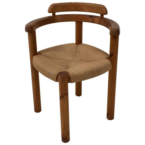stylish mid century modern corner chair in the style of