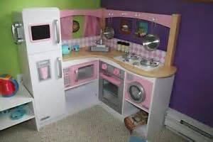 kidkraft grand gourmet corner kitchen play set pretend