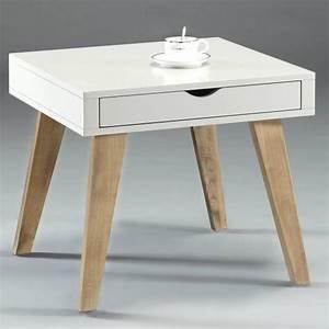 Table D Appoint : table d 39 appoint avec tiroir ~ Teatrodelosmanantiales.com Idées de Décoration