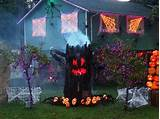 Adult halloween decorating outdoor ideas