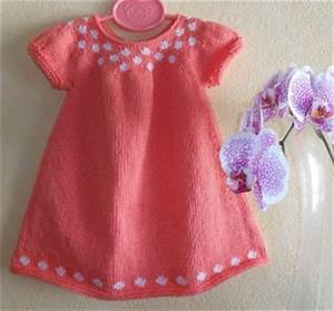 idee modele tricot robe naissance With robe naissance