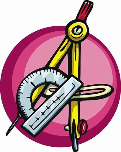 Math Clipart Instrument Mathematical Maths Geometry Equipment