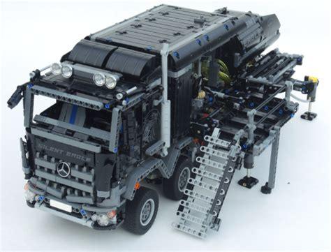mercedes arocs lego 42043 the lego car