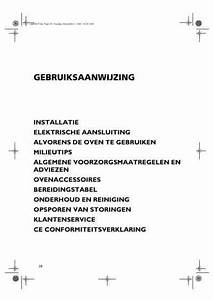 Bauknecht Blze9700 Oven Download Manual For Free Now