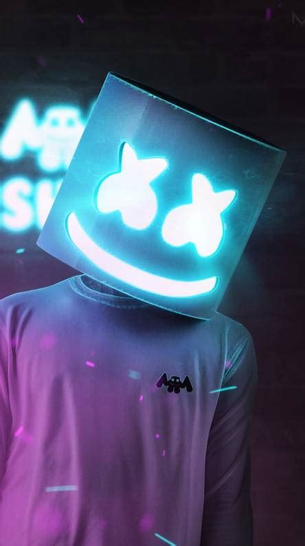 4k Resolution Neon Marshmello Wallpaper 3d by Marshmello Ringtones And Wallpapers Free By Zedge