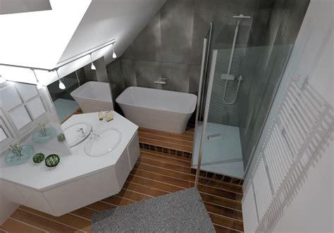 Rénovation Salle De Bain Grise à Rennes, Pacé  Bains Et