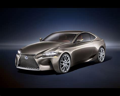 Lexus Lf-cc Full Hybrid Coupé Concept 2012