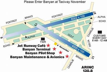 Airport Map Fxe