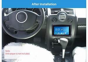 For 2009 Renault Megane Car Stereo Fascia Mounting Frame