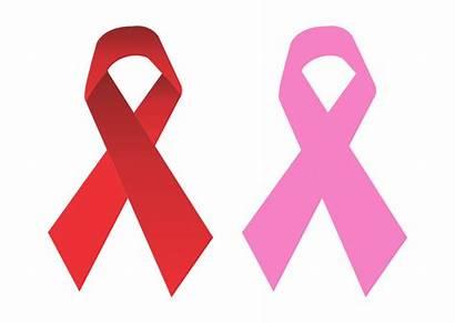 Cancer Breast Clipart Ribbon Vector Symbol Transparent