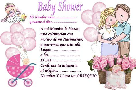 nany decoraciones invitaciones de baby shower
