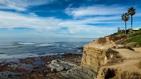Sunset Cliffs Natural Park Ocean Beach San Diego