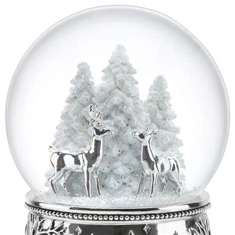 the santa clause snow globe replica pole bound snow globe reed and barton silver snowglobe