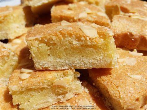 amande cuisine carrés aux amandes allégés en beurre elodien recette