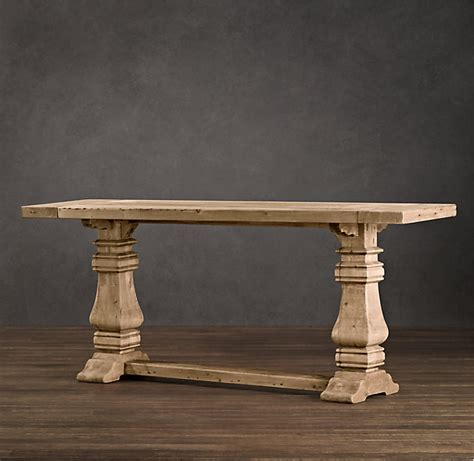 Restoration Hardware Trestle Console Table  Decor Look Alikes. Small End Tables With Drawers. Electric Height Adjustable Desks. Twin Full Bunk Bed With Desk. Outdoor Fireplace Table. Cheap Dining Room Table Sets. Adjustable Height Computer Desk Workstation. Solid Wood Coffee Table. Living Spaces Coffee Table