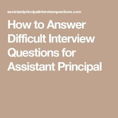 How To Answer Tough Resume Questions by Entry Level Assistant Principal Resume Templates Free Vice Principal Resume Exle Resume