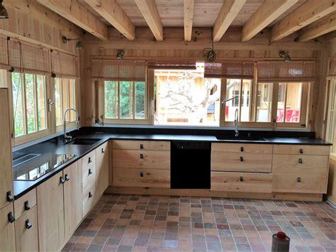 cuisine marbre et bois