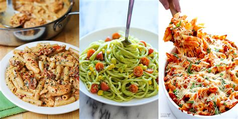 easy healthy pasta recipes 10 easy pasta recipes that are not at all boring