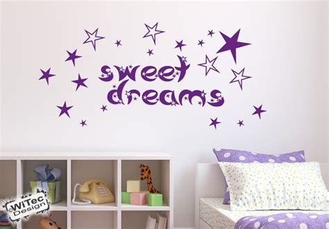 Wandtattoo Kinderzimmer Sterne by Wandtattoo Kinderzimmer Sweet Dreams Sterne Wandaufkleber