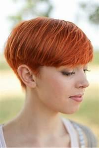 Coupe Courte Tendance 2019 : coupe courte roux coupe courte 2019 les plus belles coiffures courtes de la rentr e ~ Dallasstarsshop.com Idées de Décoration