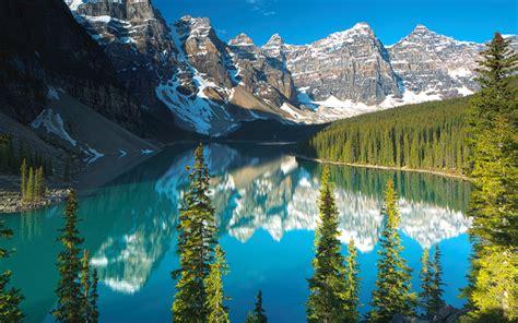 descargar fondos de pantalla  lago moraine el verano