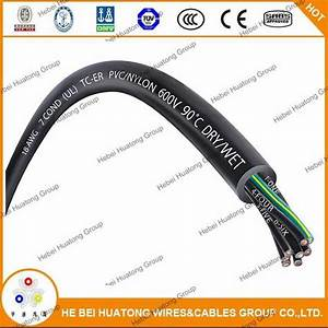 China Ul 1277 Standard Pvc  Nylon Insulation Pvc Sheath