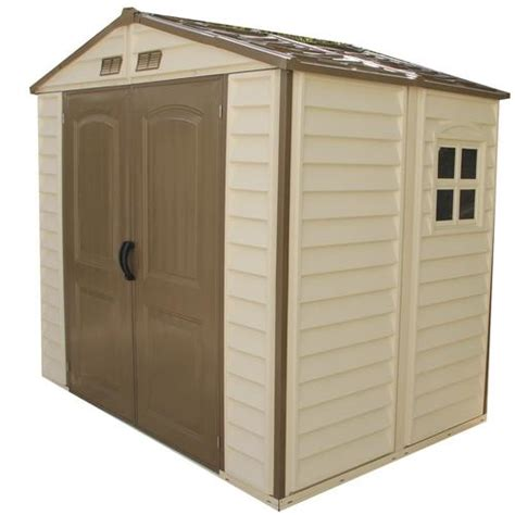 Plastic Storage Sheds At Menards by Duramax Store All 8 X 6 Vinyl Storage Building At Menards 174