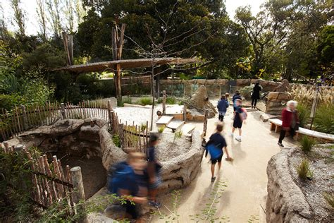 Melbourne Zoo Growing Wild Ground Zone Precinct Learning