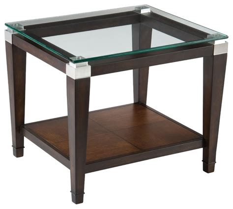 raymour and flanigan sofa table dunhill glass end table contemporary side tables end