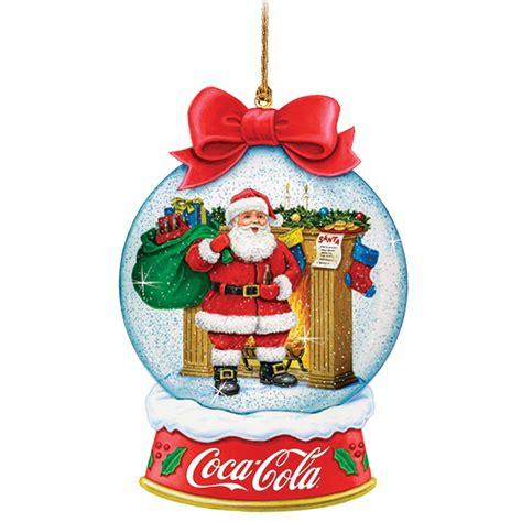 coca cola christmas ornaments  st