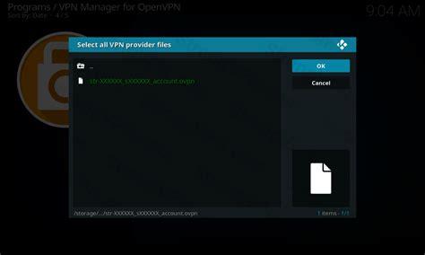 openelec libreelec 5 8 kodi openvpn vpn setup tutorial