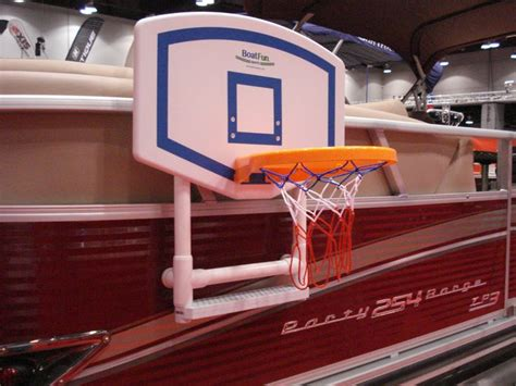 Pontoon Basketball Hoop by 43 Best Images About Pontoon On Boats