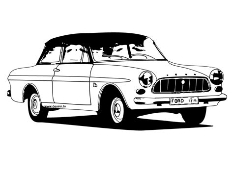 voiture ford coloriage voiture de collection ford