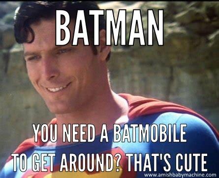 Superman Memes - dc amish baby machine podcast