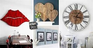 objets deco realises en bois de palettes voici 20 idees With idee deco cuisine avec objet original deco