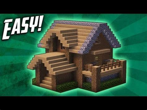 minecraft   build  survival starter house tutorial  youtube minecraft houses