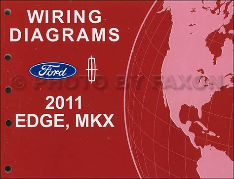 2012 Ford Edge Wiring Diagram by 2011 Ford Edge Lincoln Mkx Wiring Diagram Manual Original