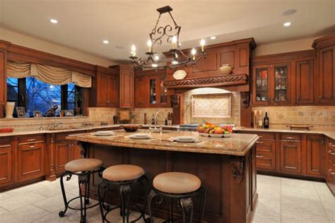 old world mode kitchen with large cooking hearth by mario mulea kitchen designs by ken