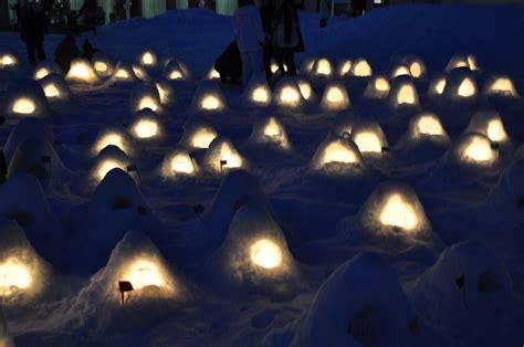 kamakura traditional snow house yokote akita pref