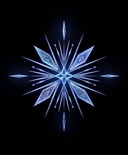 Frozen Crystal Tattoo Elsa Snowflake Disney Animation